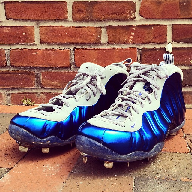 Jeremy Guthrie Turned His Foamposites into Baseball Cleats