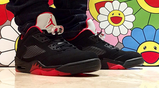 What An Air Jordan 5 Low PE for Michael Jordan Would Have Looked ... 097d309d39