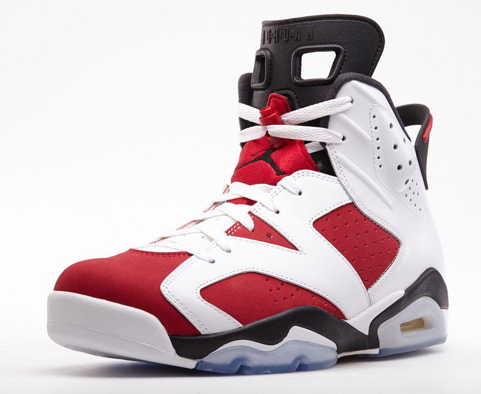 best website efc74 15d68 An Official Look at the 'Carmine' Air Jordan 6 Retro | Sole ...