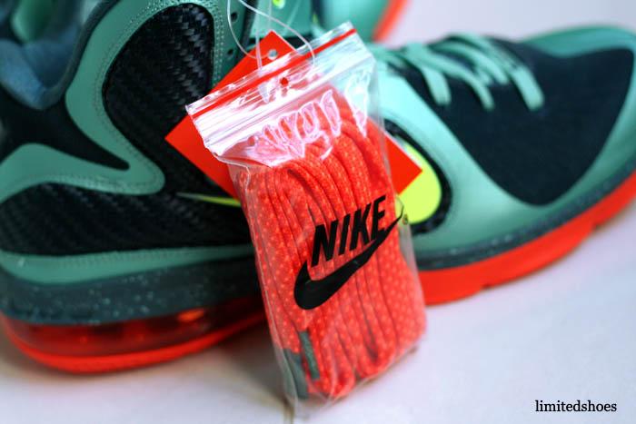 huge selection of cbf31 37ef4 Nike LeBron 9 Cannon Volt Slate Blue Team Orange 469764-004 10