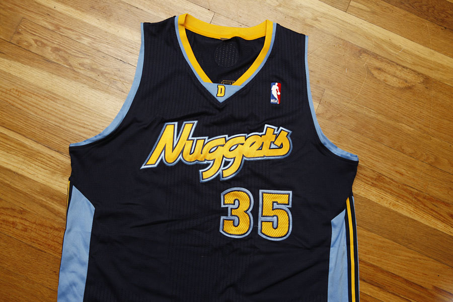 best sneakers b89de cf395 denver nuggets alternate jersey