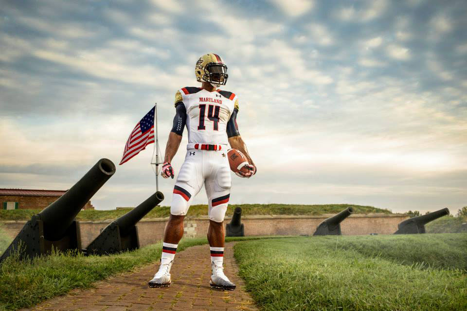 Maryland's Under Armour 'Star-Spangled Banner' Uniforms (6)