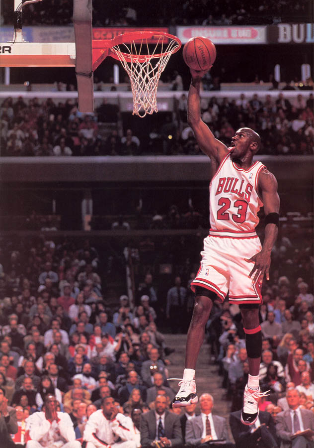 Michael Jordan wearing Air Jordan XI 11 Concord (9)