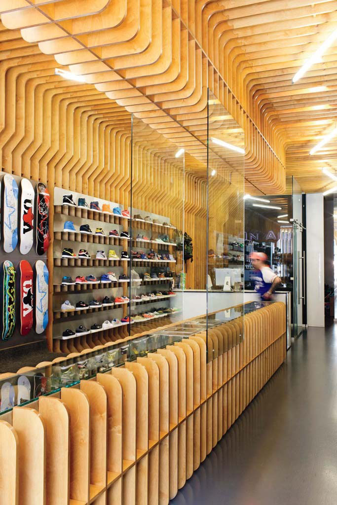Footwear News Lists the 10 Best Sneaker Shops // Concepts, Cambridge