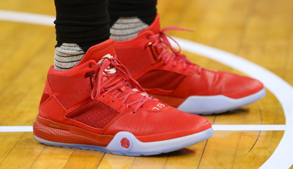 DeAndre Jordan wearing the adidas Rose 773 IV (2)