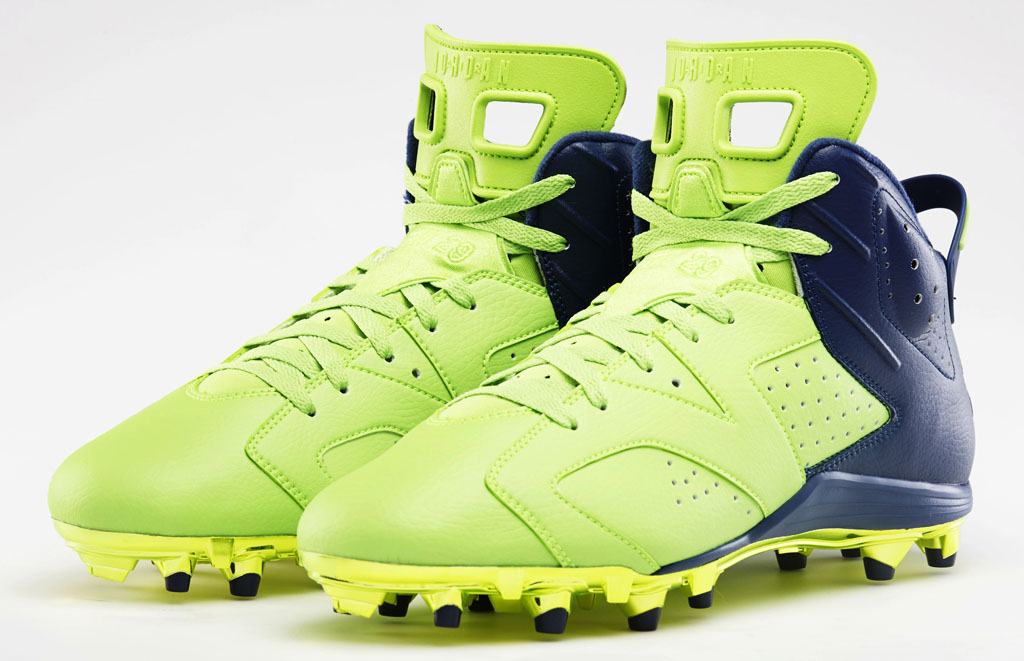newest 85ecd a1cfa Earl Thomas  Air Jordan 6 VI Super Bowl PE