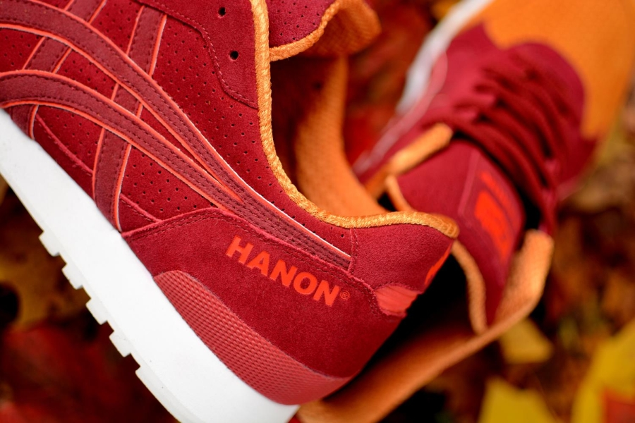 Hanon x Onitsuka Tiger Colorado Eighty-Five Wildcats II heel branding