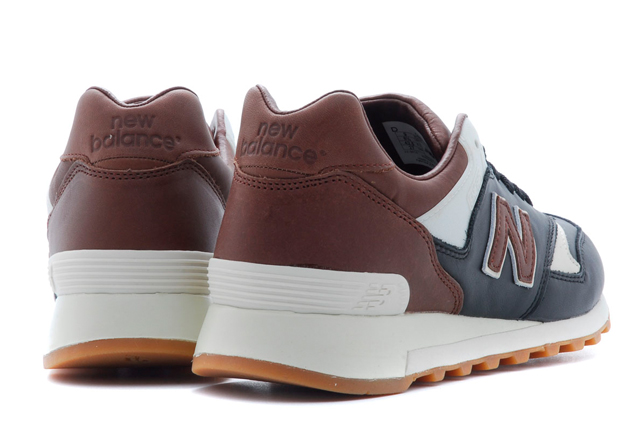 Burn Rubber x New Balance 577 Joe Louis heel