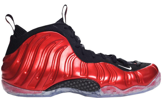 new style e88bf 59eac Nike Air Foamposite One. Style Code  314996-610. Colorway  Varsity Red White-Black  Release Date  02 04 2012