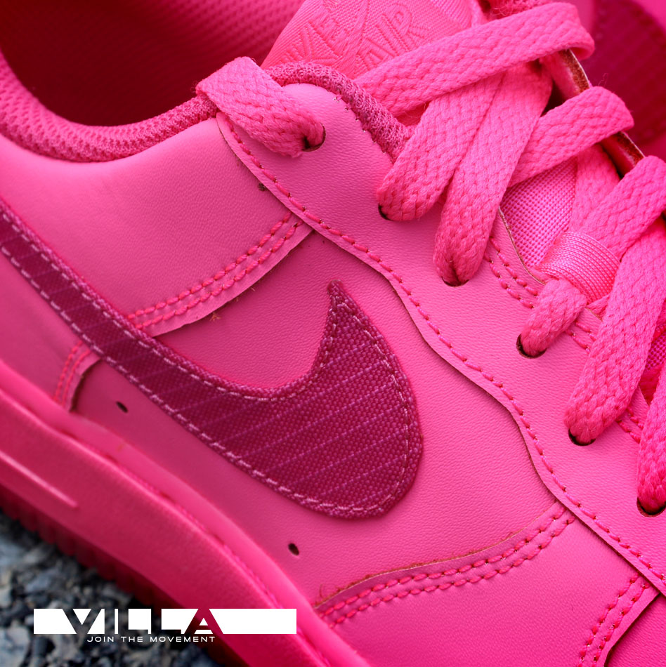 nike air force 1 gs 39 hyper pink 39 sole collector. Black Bedroom Furniture Sets. Home Design Ideas