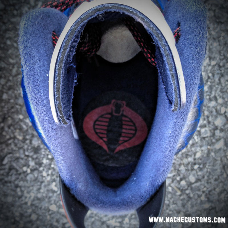 Air Jordan VI 6 Cobra Commander by Mache Custom Kicks (2)