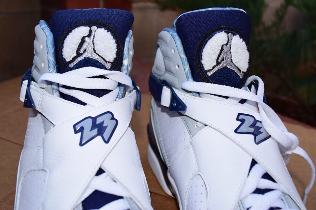 hot sale online daa30 53730 Air Jordan 8 Josh Howard PE Mavericks (2)