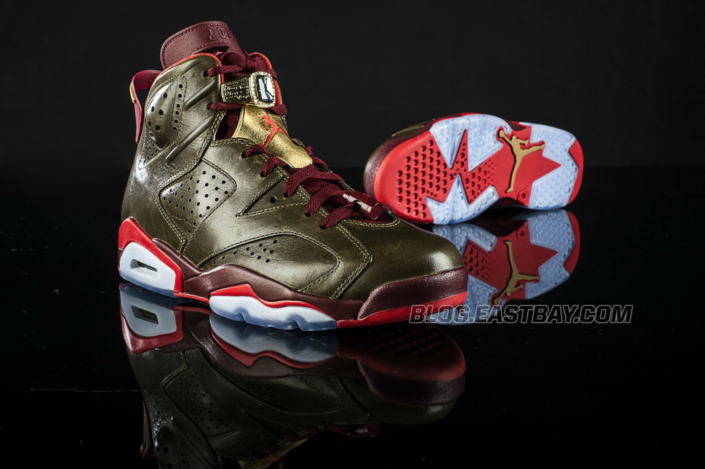 443edd56b575 Air Jordan 6 Retro  Celebration Collection  Releasing at Eastbay ...
