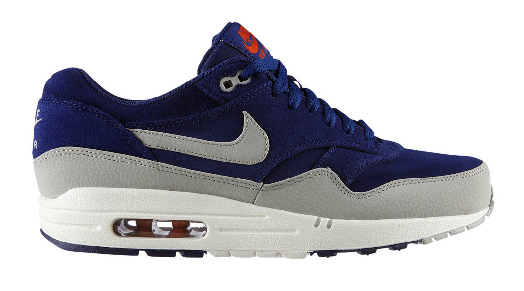 Nike Air Max 1 Premium 'Deep RoyalGranite' Now Available