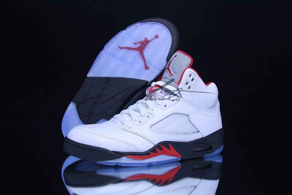 Air Jordan V 5 Fire Red 136027-100 (9)