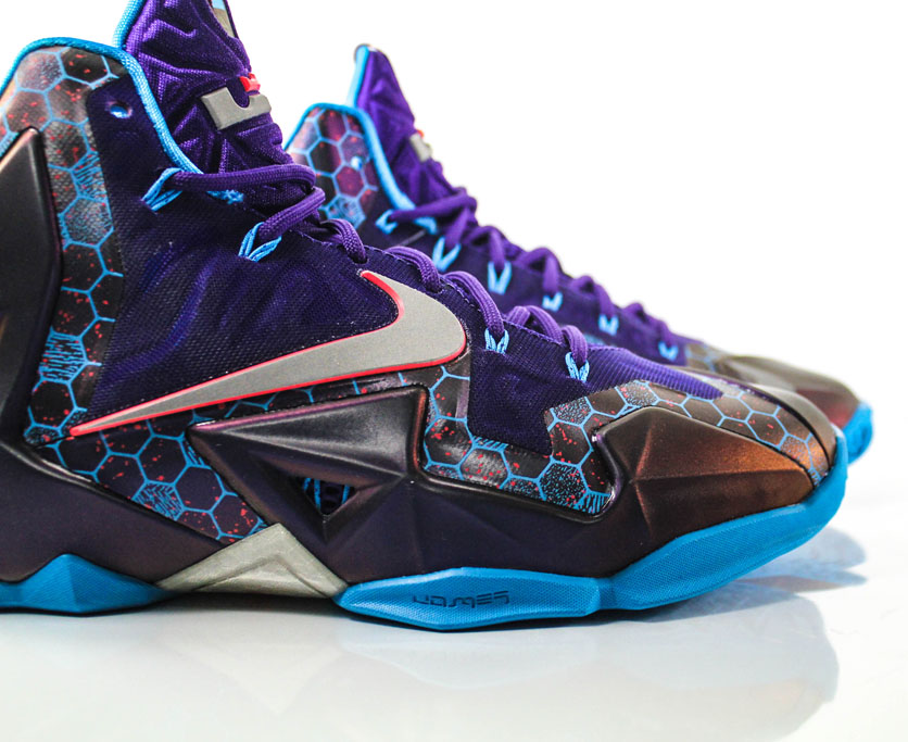 Nike LeBron 11 Summit Lake Hornets 616175-500 (3)