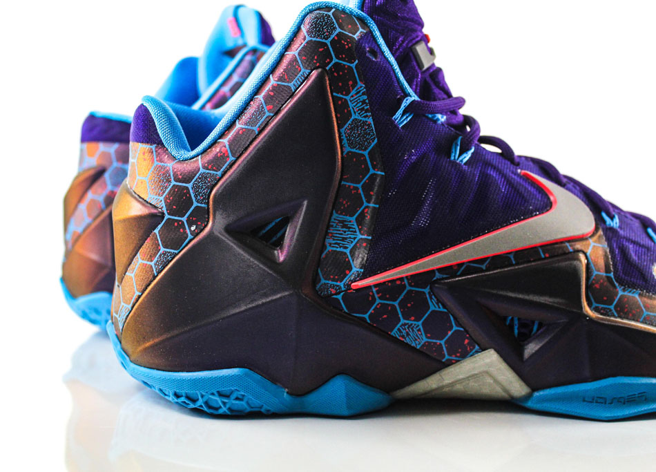 Nike LeBron 11 Summit Lake Hornets 616175-500 (2)