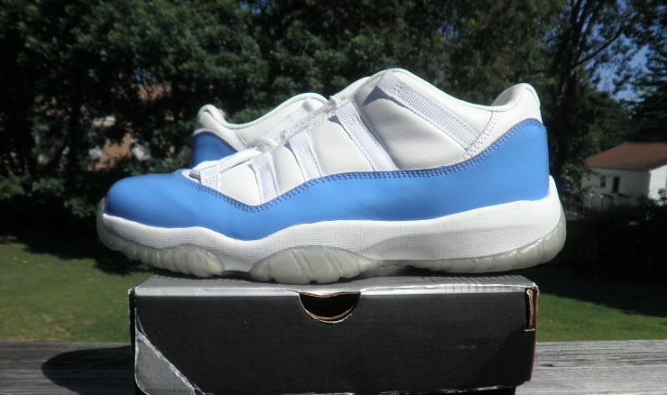 The Top 10 'UNC' Air Jordan Releases of All-Time - Air Jordan XI 11 Retro Low White/Columbia