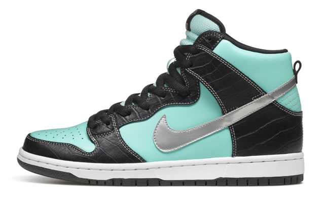 Diamond Supply Co. x Nike SB Dunk High Tiffany