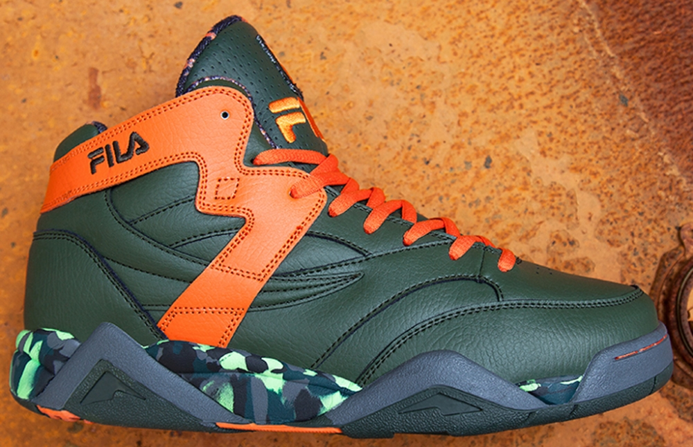 Fila M-Squad Green/Orange