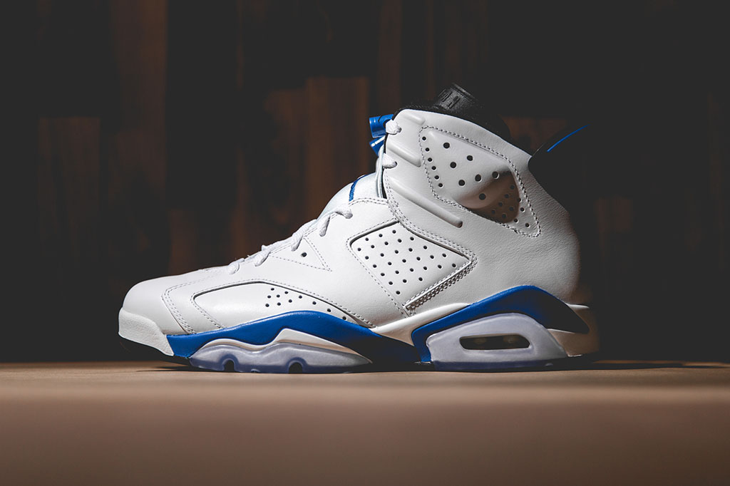 reputable site 7e1e5 30ad1 Air Jordan VI 6 Sport Blue 384664-107 (1)