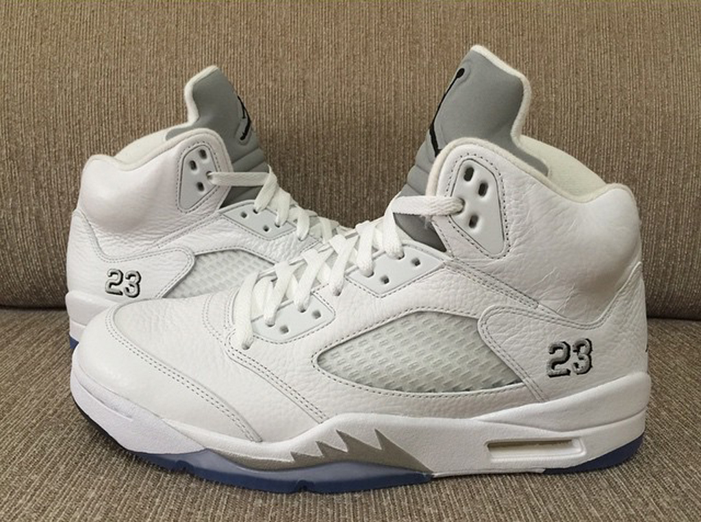 meet 6bfcb e1193 The 'White Metallic' Air Jordan 5 Is Returning Soon | Sole ...