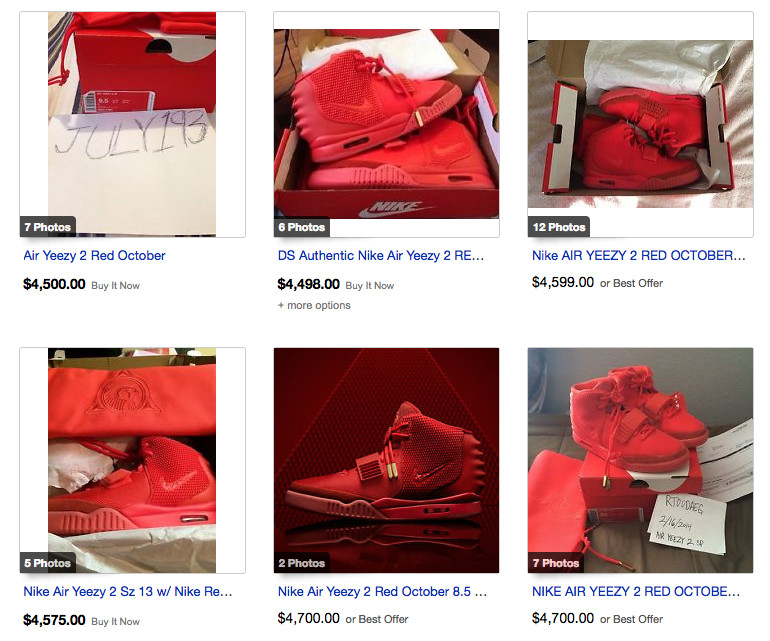 One Month Later - 10 Facts About the Red October Nike Air Yeezy 2 a Month  After Its Release 369477115