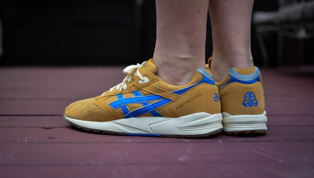 Geee_Arrr in the Foot Patrol x ASICS Gel Saga