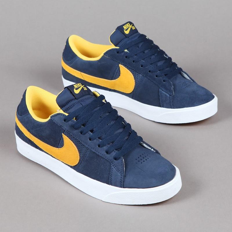 Blazers Bleu Marine Nike Bleu