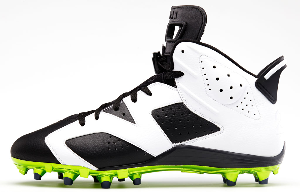 Air Jordan 6 Low Earl Thomas PE Cleats (2)