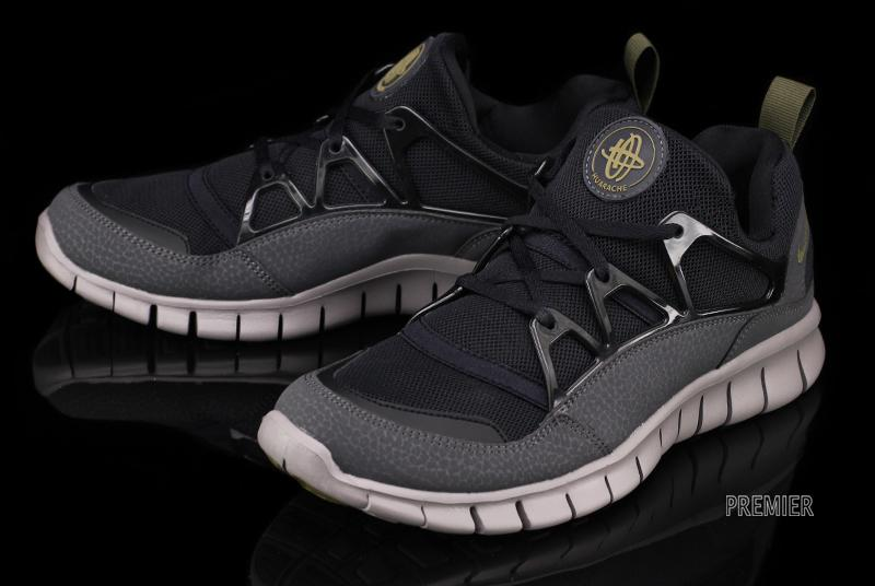 nike huarache light black