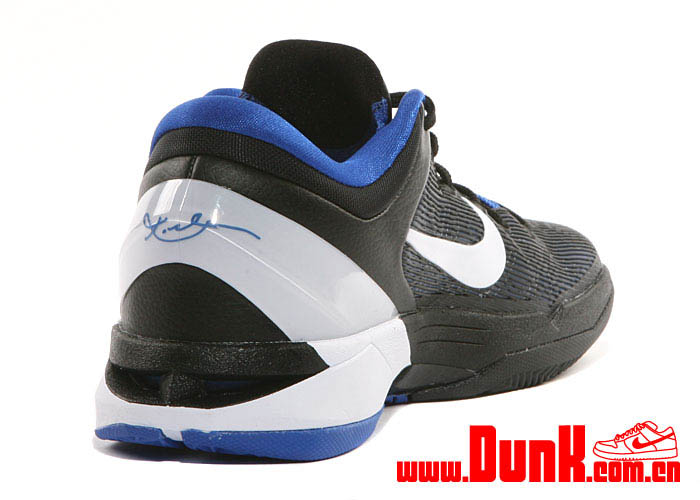 online store 07616 8c02e Nike Kobe VII System Duke Shoes Treasure Blue White Black 488370-400 (5)