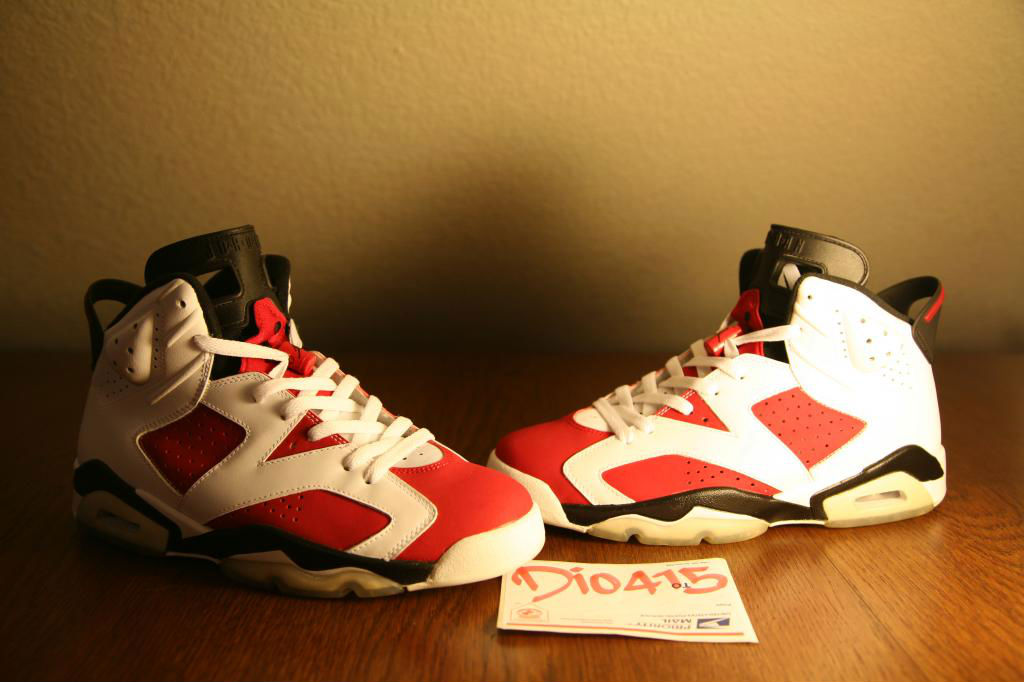 Spotlight // Pickups of the Week 12.8.12 - Air Jordan Retro VI 6 Carmine by dionicio