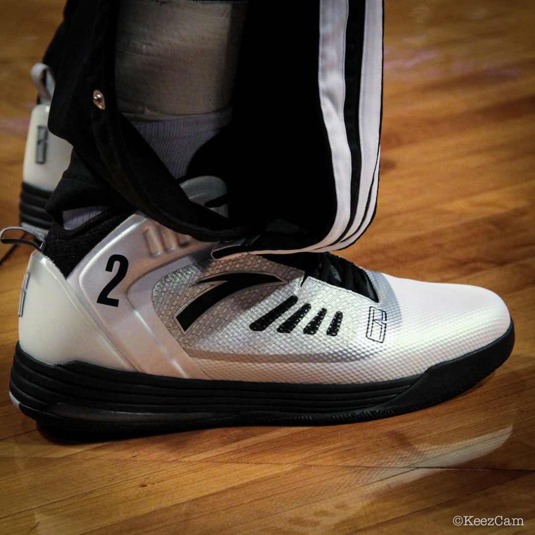 Sole Watch // Up Close At Barclays for Nets vs Bucks - Kevin Garnett wearing ANTA KG