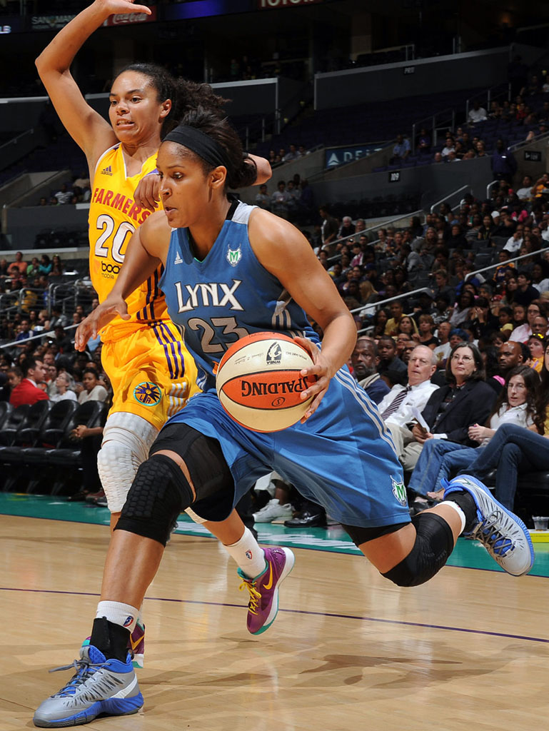 Maya Moore wearing Jordan Super.Fly PE (1)
