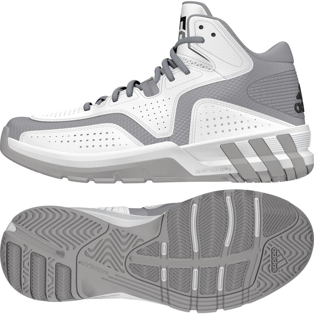 hot sale online 108ff abf62 adidas D Howard 6 WhiteGrey (1)