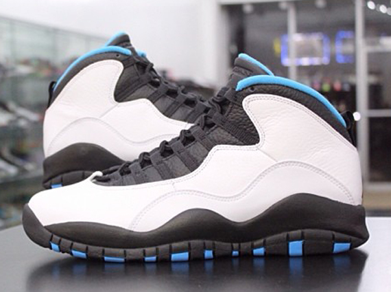 huge selection of 2ae9d cbcee Air Jordan 10 Retro - Powder Blue - New Images | Sole Collector