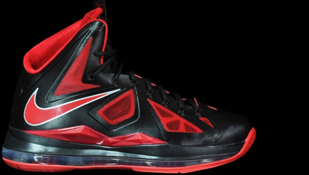 Nike LeBron X Black/University Red