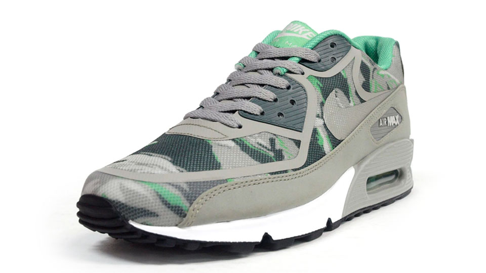 Nike Air Max 90 PREM TAPE Grey Green Shoes