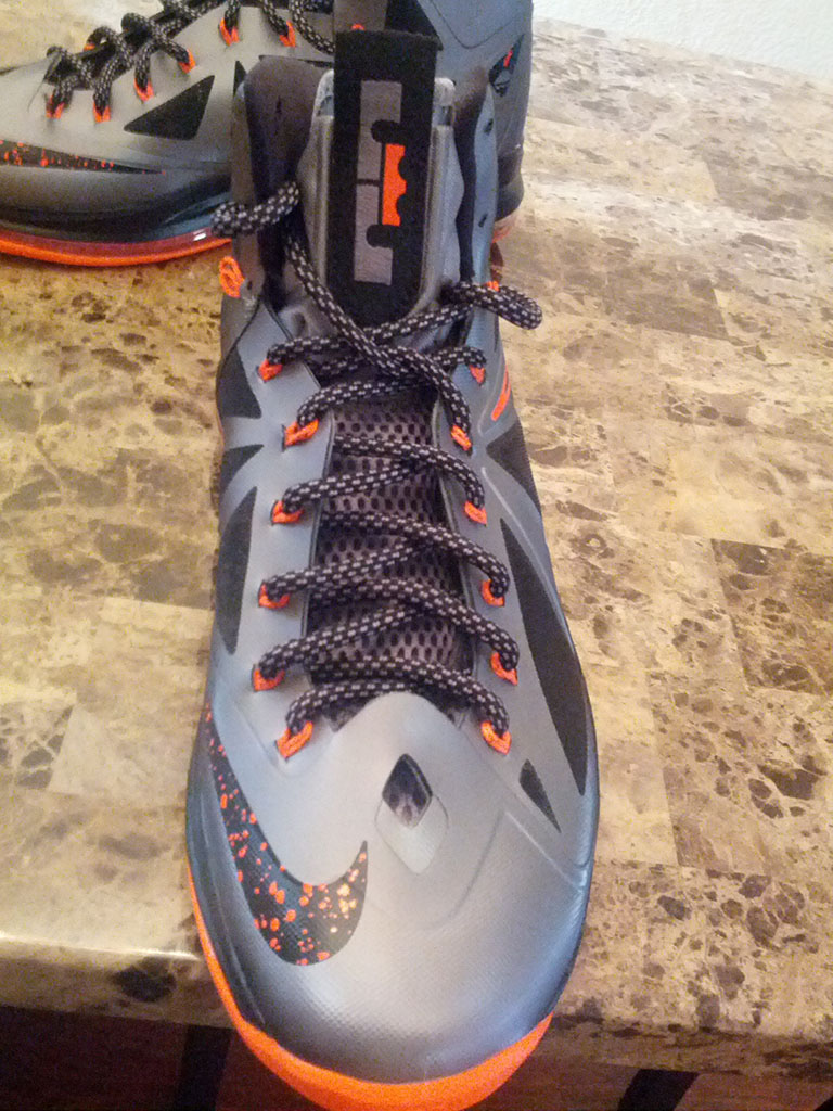 Nike LeBron X 10 Silver Black Orange Mango (5)