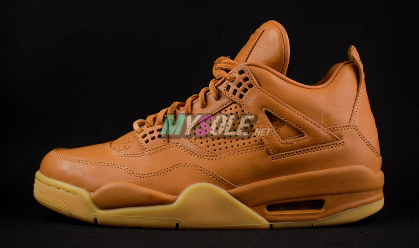 24315eb71c11 Wheat Jordan 4 819139-205 Profile