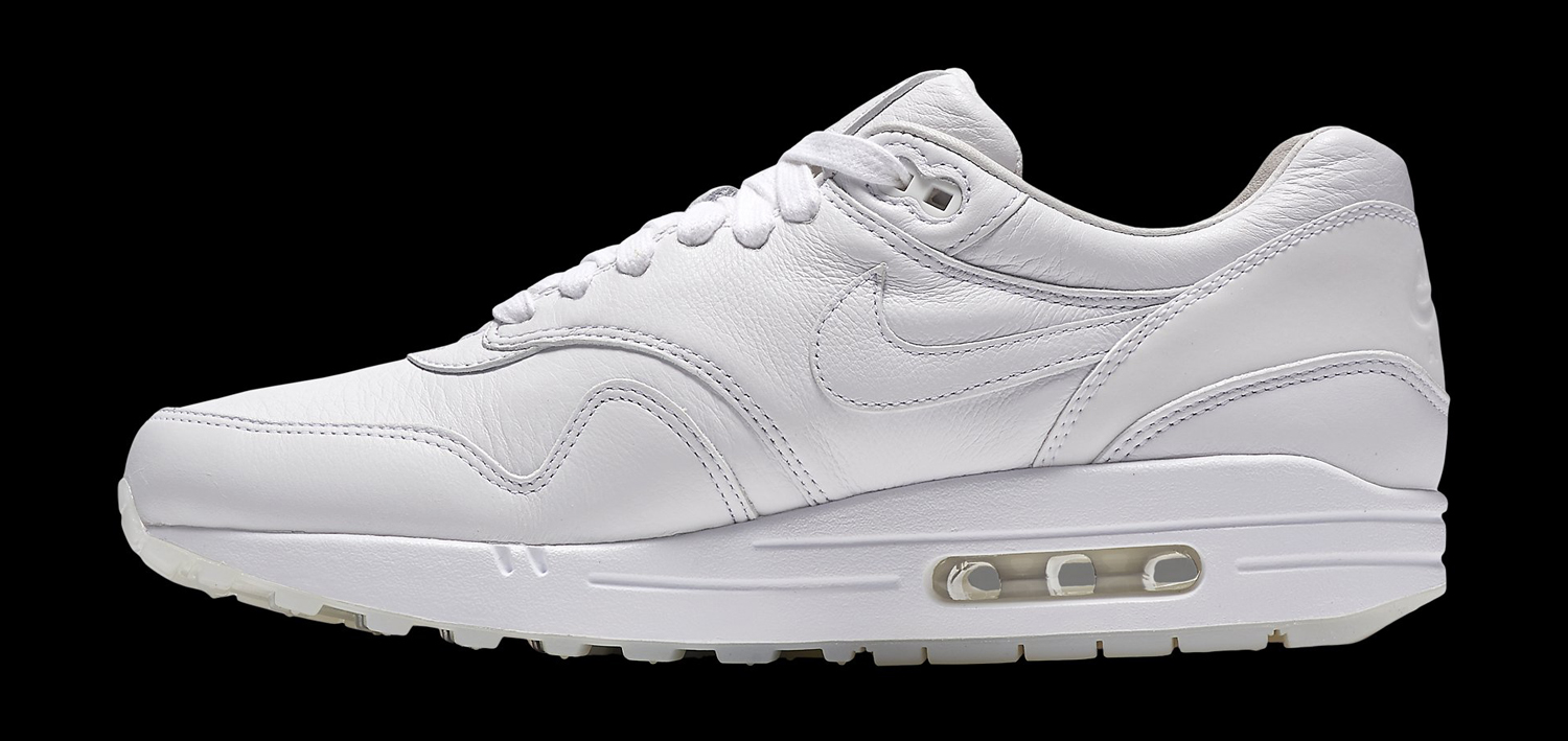 reputable site 576b8 8b295 Nike Air Max 1 Pinnacle White Medial