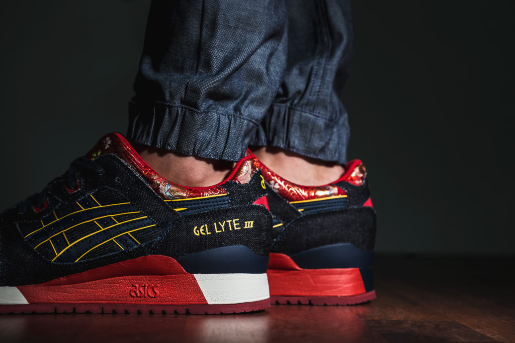 the latest be96f aa2d0 This Asics Gel Lyte III Is a Kimono for Your Feet | Sole ...