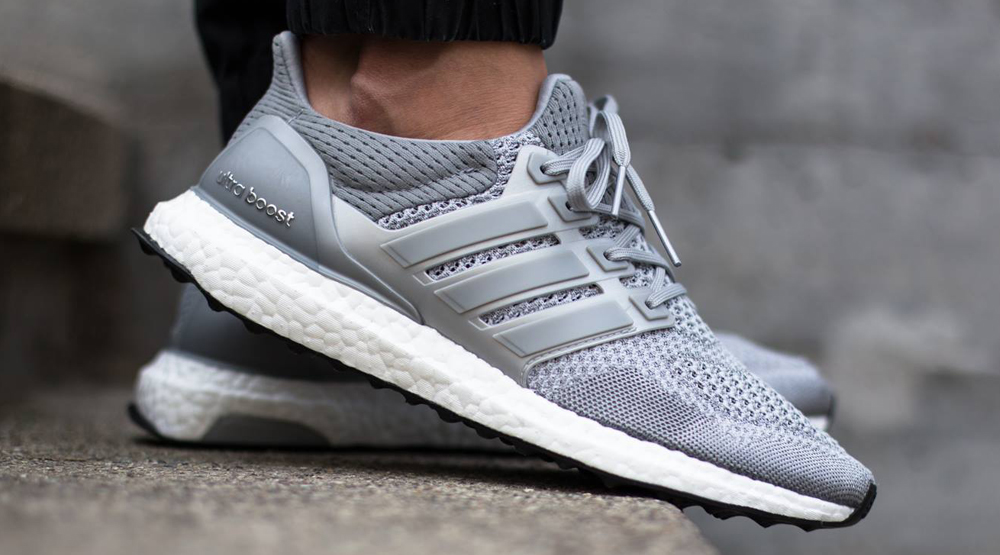 791175e604413 See How the  Metallic Silver  adidas Ultra Boost Looks On-feet ...