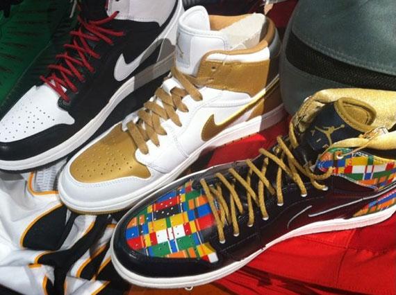 Air Jordan Retro 1 High - Olympic Pack