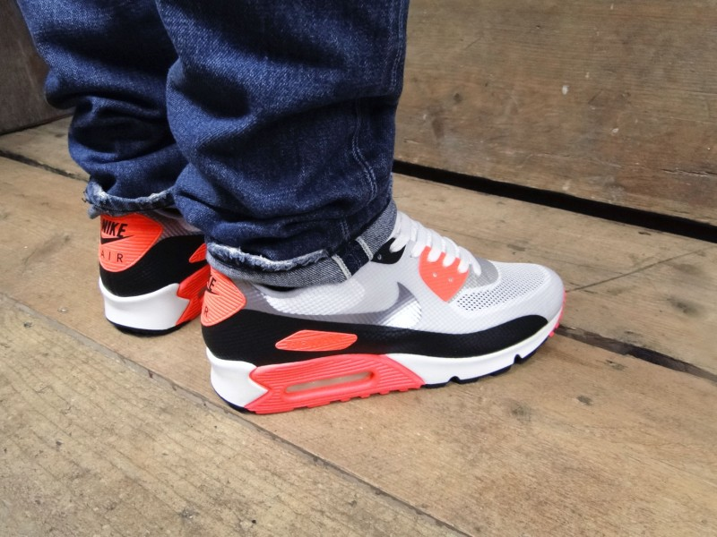 hyperfuse infrared air max 90