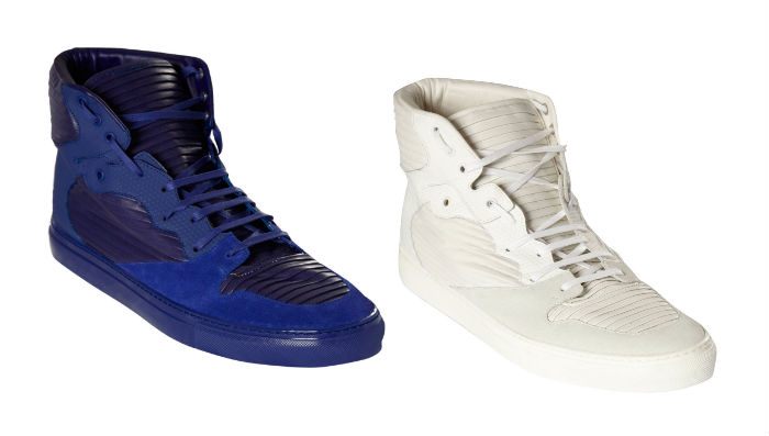 Balenciaga Cotes High - Blue & White - Spring/Summer 2013