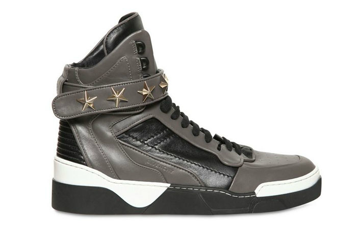 Givenchy Stars Leather High Tops | Sole