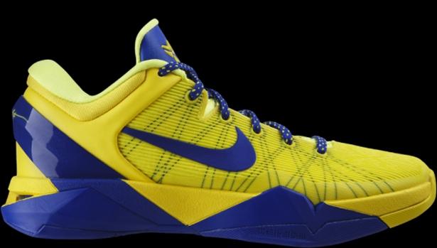 Nike Zoom Kobe 7 FC Barcelona Tour Yellow/Game Royal