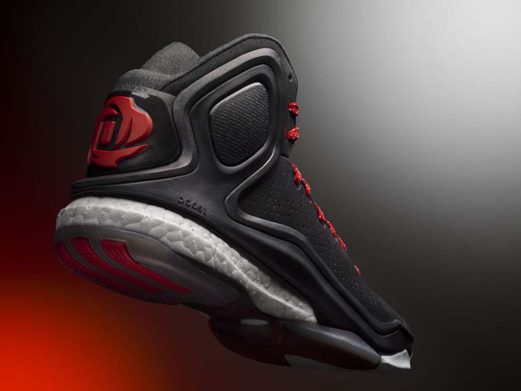 2adidas d rose 5 boost home